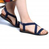 Muço Rahat Günlük 7 Farklı Renk Bayan Terlik-Sandalet-12