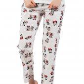 Mickey Mouse Desenli Pamuk Tek Alt Pijama