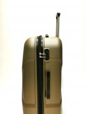 Büyük Boy Valiz Abs 4 Tekerlekli Bronz Valiz Ehs-3