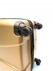 Büyük Boy Valiz Abs 4 Tekerlekli Bronz Valiz Ehs-4