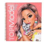 Top Model Kitty Boyama Kitabı