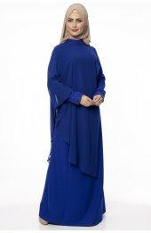 5046 Inci Detayli Elbise - Saks