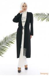 Bluz Ceket Krep Ikili Takim 9003 Siyah