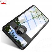Samsung Galaxy S9 Arkası Şeffaf Sert Plastik Arka Kılıf Kapak Yen