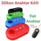 Fiat Linea Fiorino Punto Silikon Anahtar Kılıfı Fiat Anahtar Kabı