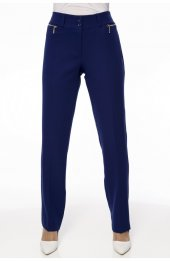 1003 Fermuar Detayli Pantolon - Lacivert