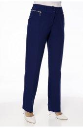 1003 Fermuar Detayli Pantolon - Lacivert-2