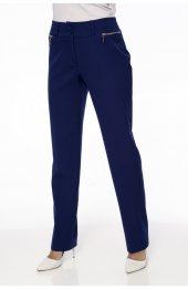 1003 Fermuar Detayli Pantolon - Lacivert-3