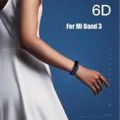 Xiaomi Mi Band 3 - 6D Çizilmez Nano Esnek Ekran Koruyucu-5