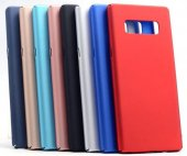 Samsung Galaxy Note 8 Slim Fit Kılıf Mat Süet...
