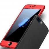 Apple İphone 7 Plus Fit 360 �derece Tam Koruma Kılıf + Kırılmaz