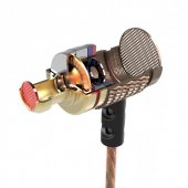 Kz Edr1 Hifi Ses Metal 3.5mm Giriş Kablolu Mikrofonlu Kulaklık