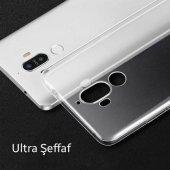 Huawei Mate 10 Pro Soft Şeffaf Ultra Slim Fit Silikon Kılıf Şeffa