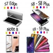 Samsung Galaxy Note8 S9 S8 S7 Edge Uyumlu 360 Voero Aynalı Telefo-2