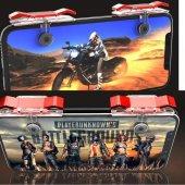 PubG Ateş Tetik Düğmesi + Gamepad Konsol Tüm Telefonlar İçin-Ş.K-5