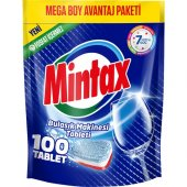 Mintax Bulaşık Makinası Tableti 100lü