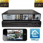 Primuscam 4 Kameralı Set Gece Görüşlü Güvenlik Kamerası 2mp Ahd 2 Plastik 2 Metal Kasa