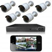Primuscam 5 Kameralı Set Gece Görüşlü Güvenlik...
