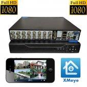 Primuscam Dış Mekan 10 Kameralı Set Gece Görüşlü Güvenlik Kamerası 2MP AHD Metal Kasa-2
