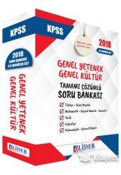 Süper Fiyat Lider 2018 Kpss Genel Yetenek Genel Kültür Soru Banka
