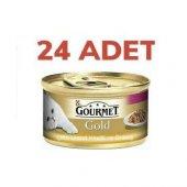 Purina Gourmet Gold Hindi Ördek 85 Gr 24 Adet