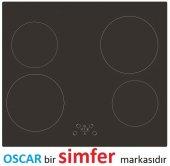 Oscar 4903 Vitroseramik Siyah Ankastre Cam Ocak