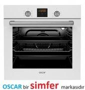 Oscar 8056 8 Prog. A Enerji Beyaz Ankastre Fırın