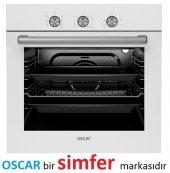 Oscar 8036 6 Prog. A Enerji Ankastre Beyaz Fırın