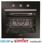Oscar 8055 Siyah 3 Fonksiyon Statik Ankastre Fırın