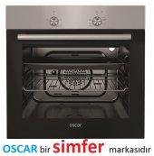 Oscar 8012 Inox Statik Ankastre Fırın