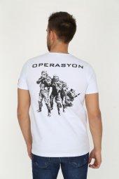 Genıus Store Erkek Baskılı Military Tişört (Yeni Ürün)