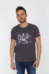 Genıus Store Erkek Sat Baskılı Military Tişört (Yeni Ürün)