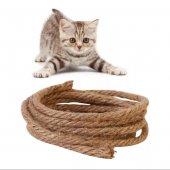 Kedi Tırmalama İpi 6 Mm 10 Metre (Ücretsiz...