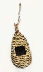 100 Doğal Egzotik, Finch Bülbül Yuvası 9x9x19 Cm.
