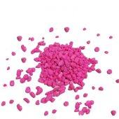 Akvaryum Pembe Renkli Çakıl 8 10mm 1 Kg Paket