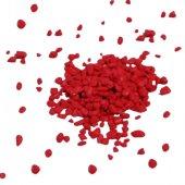 Akvaryum Kırmızı Renkli Çakıl 8 10mm 1kg Paket