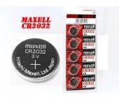 Maxell 2032 Lithium Batery 5 Li Paket