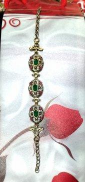 Otantik Osmanlı Gümüş Bileklik