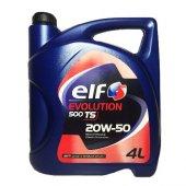 Elf Evolution 500 Ts 20w50 4l Motor Yağı