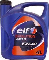 Elf Evolution 500 Ts 15w40 4l Motor Yağı