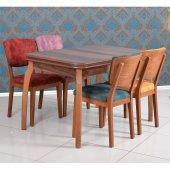 Rose Ceviz Masa Sandalye Takımı