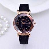 Sade ve Şık Bayan Kol Saati Lüks Tasarım Bileklik Hediyeli Saat