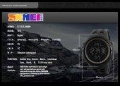 Skmei 1251 Su Geçirmez Sporcu Erkek Kol Saati Dijital Işıklı Saat-6
