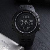 Skmei 1251 Su Geçirmez Sporcu Erkek Kol Saati Dijital Işıklı Saat-10