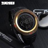 Skmei 1251 Su Geçirmez Sporcu Erkek Kol Saati Dijital Işıklı Saat-12