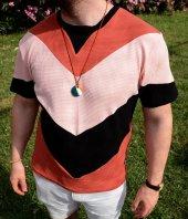 Aztec Pramit Vintage Stil Kremit Renk T Shirt