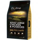 Profine Adult Large Doğal Tavuk Eti Ve Patates Köpek Maması 3 Kg