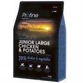 Profine Junior Large Doğal Tavuk Ve Patates Yavru Köpek Maması 3 Kg