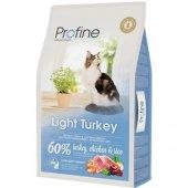 Profine Light Turkey Düşük Kalorili Hindi Etli Kedi Maması 2 Kg