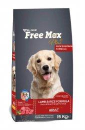 Free Max Adult Lamb Kuzu Etli Yetişkin Köpek Maması 15 Kg